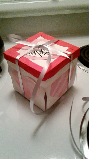 almost done Vday box